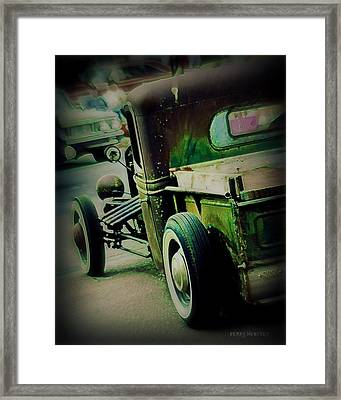 Old Drive Framed Print by Perry Webster