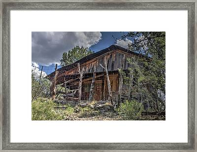 Old Dugas School House Framed Print by Thomas Todd