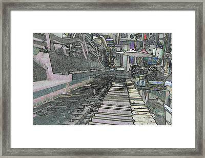 Old Dusty Things Framed Print by Jane Gray