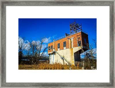 Old Electrical Sub Station Framed Print