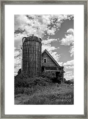Old Ely Vermont Barn Framed Print