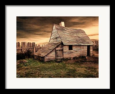 Pastureland Framed Prints