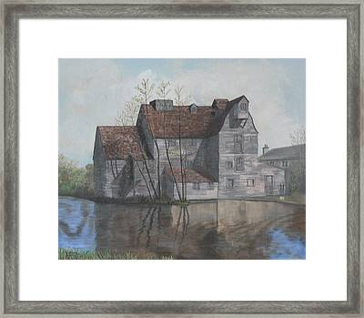 Old English Mill Framed Print by Dan Bozich