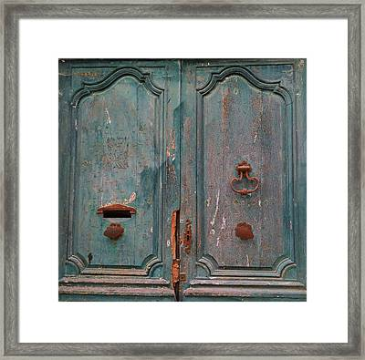 Old Entrance In Limoux Framed Print by Dagmar Batyahav