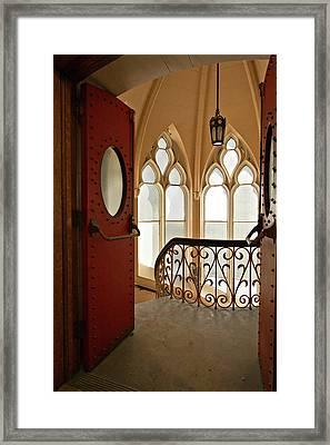 Old Entrance Framed Print