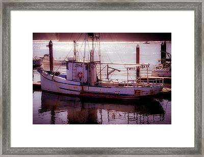 Old Ester Dockside Framed Print by Garry Gay