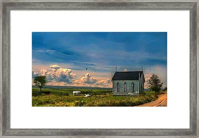 Old Evangeline Church Framed Print