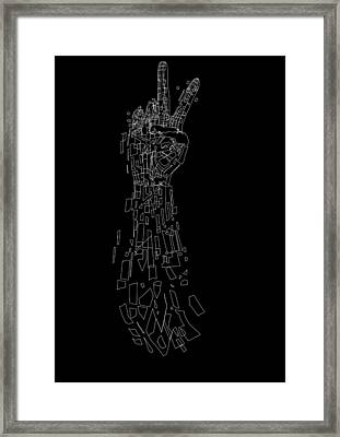 Old Experimentpeace Framed Print by Andreas  Leonidou