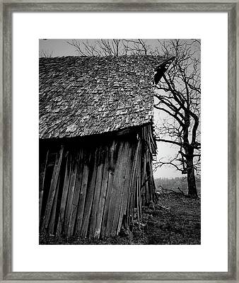 Old Farm 11 Framed Print by Dennis Sullivan