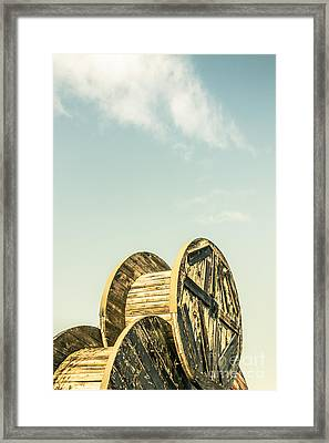 Old Farm Details Framed Print by Jorgo Photography - Wall Art Gallery