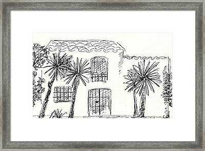 Old Farm In Torremolinos Framed Print