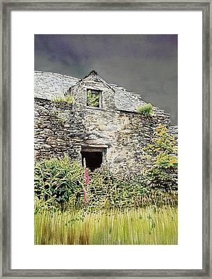 Old Farm Near Betws Y Coed Framed Print