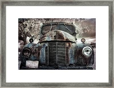 Old Farm Truck II Framed Print by Christine Hauber