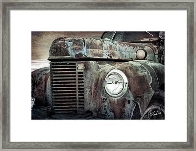 Old Farm Truck IIi Framed Print by Christine Hauber