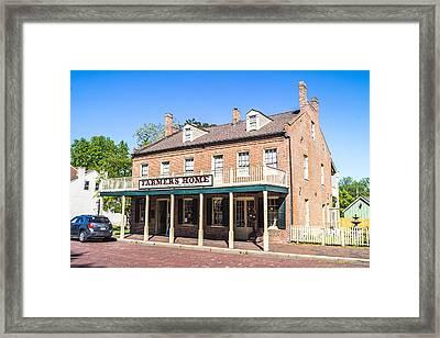Old Farmers Home Framed Print