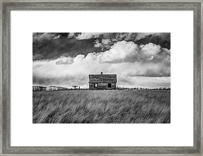 Old Farmhouse Framed Print by G Wigler