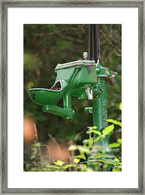 Old Fashion Framed Print by Heather Green