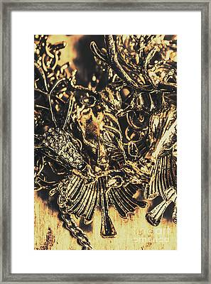 Old-fashioned Deer Jewellery Framed Print by Jorgo Photography - Wall Art Gallery