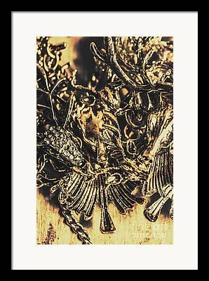 Carats Framed Prints