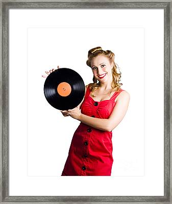 Old Fashioned Music Framed Print by Jorgo Photography - Wall Art Gallery