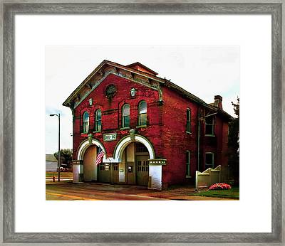 Old Firehouse No. 10 Framed Print