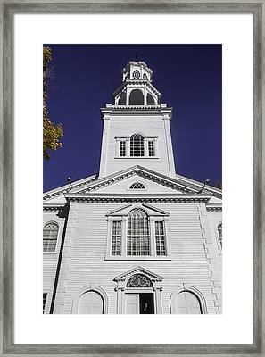 Old First Church Framed Print by Garry Gay