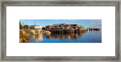 Old Fishermans Wharf, Monterey Framed Print by Panoramic Images