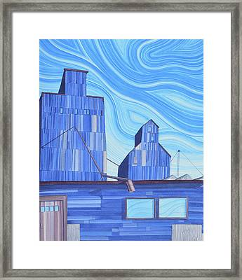 Old Flat Top Framed Print by Scott Kirby