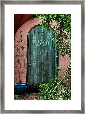 Old Florida 7 Framed Print