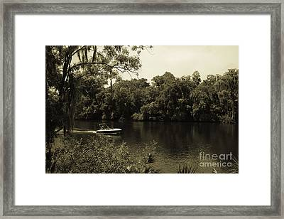 Old Florida Framed Print by Marilyn Carlyle Greiner
