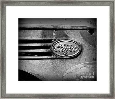 Old Ford 85 Framed Print