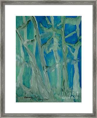 Old Forest Framed Print