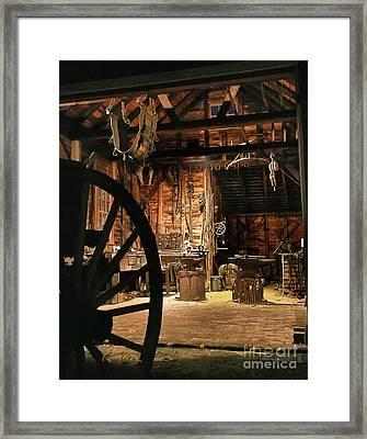 Old Forge Framed Print