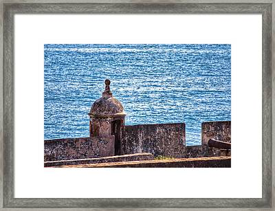 Old Fort  Framed Print