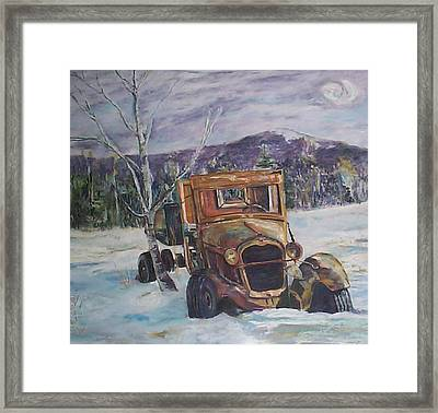 Old Friend II Framed Print by Alicia Drakiotes