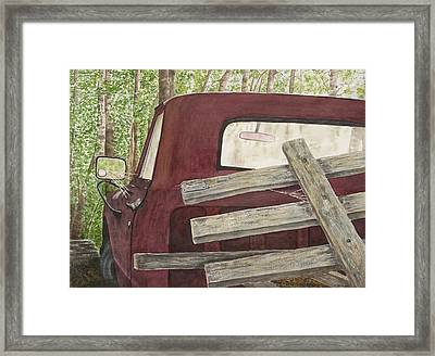 Old Friend Framed Print by Rosie Phillips