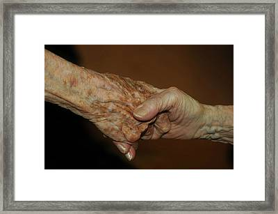 Framed Print featuring the photograph Old Friends by Carolyn Dalessandro