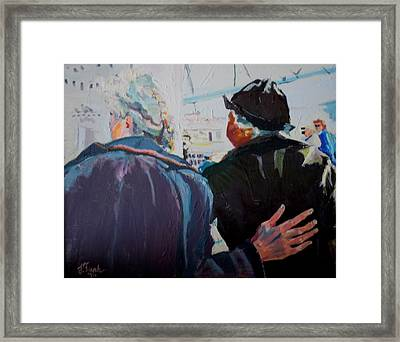 Old Friends In Love Framed Print
