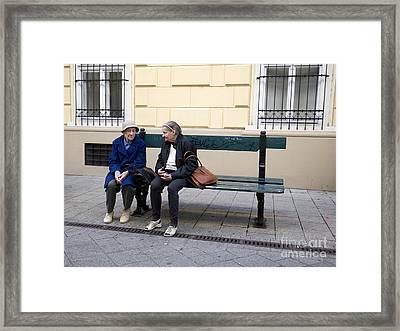Old Friends Framed Print by Madeline Ellis