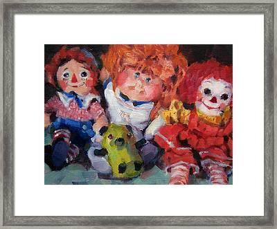 Old Friends Framed Print by Merle Keller