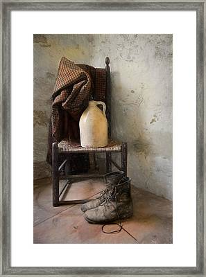 Framed Print featuring the photograph Old Friends by Robin-Lee Vieira