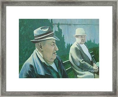 Old Friends Framed Print by Susan Lafleur
