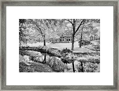 Framed Print featuring the photograph Old Frontier House by Paul W Faust - Impressions of Light
