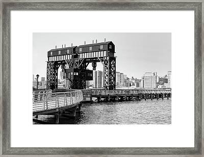 Old Gantry Framed Print