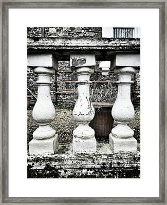 Old Garden Wall Framed Print by Tom Gowanlock