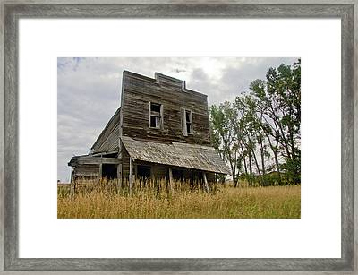 Old General Store Framed Print by James Steele