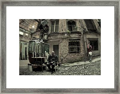Old Genoa Framed Print by Luca Renoldi