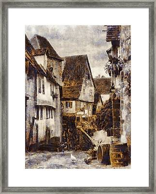 Old Germany Framed Print