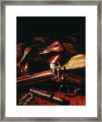 Old Glass Eye Framed Print by Kurt Jacobson