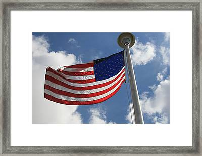 Old Glory 2 Framed Print by Bob Gardner
